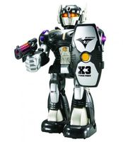 """Робот """"Черный воин"""" (со световыми эффектами)"""