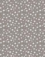 "Простыня хлопковая ""Stars Grey"" (210х220 см)"