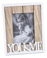 "Рамка деревянная ""You&Me"" (10х15 см; арт. 25418065)"