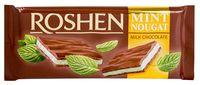 "Шоколад молочный ""Roshen"" (90 г; мятная нуга)"