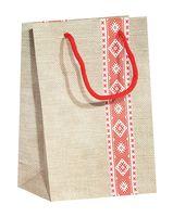 Пакет бумажный подарочный (18х23х8 см; арт. BB101383)