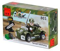 """Конструктор """"Combat Zones. Военная машина"""" (51 деталь)"""