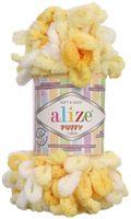 """Пряжа """"ALIZE. Puffy Color №5921"""" (100 г; 9 м; секционный)"""