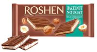 "Шоколад молочный ""Roshen"" (90 г; ореховая нуга)"