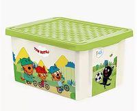 """Ящик для хранения игрушек """"Три кота. Забава"""" (арт. LA1625)"""