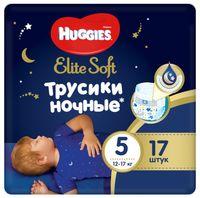 """Подгузники-трусики """"Elite Soft Overnites 5"""" (12-17 кг; 17 шт.)"""