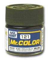 Краска Mr. Color (brown violet, C121)