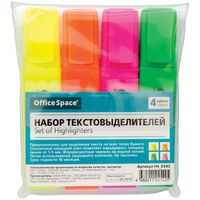 "Набор маркеров текстовых ""OfficeSpace"" (4 цвета; 1-5 мм)"