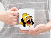 "Кружка ""Симпсоны. Гомер"" (арт. 545)"