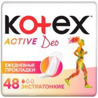 """Ежедневные прокладки """"Active Deo"""" (48 шт.)"""