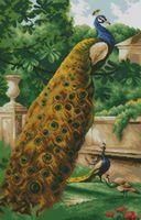 """Алмазная вышивка-мозаика """"Павлины в саду"""""""