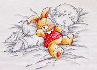 "Вышивка крестом ""Сладкий сон"" (200x180 мм)"