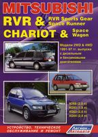 Mitsubishi RVR & RVR Sports Gear. Space Runner. Chariot & Space Wagon с 1991-1997 гг.