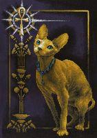 """Вышивка крестом """"Египетская кошка"""""""