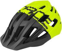 """Шлем велосипедный """"Corella MTB"""" (черно-салатовый; р. S-M)"""