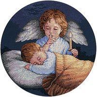 """Вышивка крестом """"Ангел-Хранитель"""" (арт. DMS-03873)"""