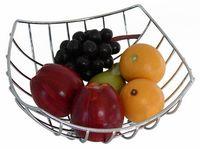 Подставка для фруктов металлическая (240x240x110 мм)