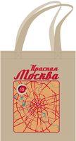 """Сумка """"Красная Москва"""" (песочная)"""