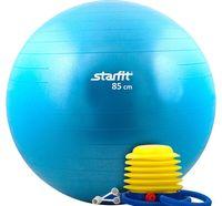 Мяч гимнастический GB-102 с насосом (85 см; синий)
