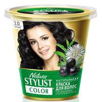 """Краска для волос """"Nature Stylist Color"""" тон: 1.0, черный"""