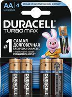 Батарейка DURACELL TURBO AA LR6 MN1500 Alkaline (4 шт.)