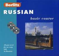 Berlitz. Russian: Basic course (+ 3 CD)
