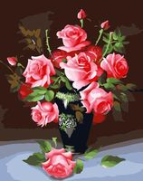 "Картина по номерам ""Букет роз"" (400x500 мм; арт. MG079)"