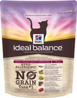 """Корм сухой для кошек """"Ideal Balance. No Grain"""" (300 г; тунец и картофель)"""