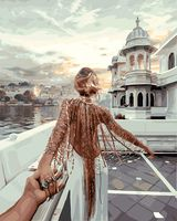 """Картина по номерам """"Иди за мной. Индия"""" (400х500 мм)"""