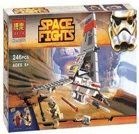 """Конструктор """"Space Wars. Космический истребитель"""" (246 деталей)"""