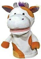 """Мягкая игрушка """"Кукла на руку. Корова со звуком"""" (25 см)"""
