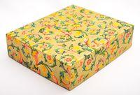 "Подарочная коробка ""Traditional"" (16,5х20х5 см; золотые элементы)"