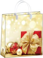 """Пакет пластиковый подарочный """"Present"""" (30х30х10 см; арт. BAM 143)"""