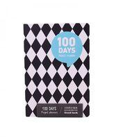 "Планер ""100 Days"" (А5; голубой)"
