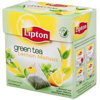 "Чай зеленый ""Lipton. Green Tea Lemon Melissa"" (20 пакетиков)"