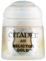 "Краска для аэрографа ""Citadel Air"" (relictor gold; 12 мл)"