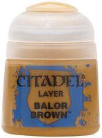 """Краска акриловая """"Citadel Layer"""" (balor brown; 12 мл)"""