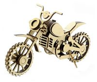 """Сборная деревянная модель """"Мотоцикл Кросс"""""""