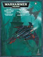 "Миниатюра ""Warhammer 40.000. Dark Eldar Razorwing Jetfighter"" (45-17)"