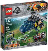 "LEGO Jurassic World ""Погоня за Блю на вертолёте"""