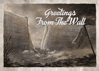 """Открытка """"Greetings from the wall"""""""
