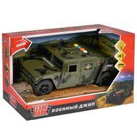 """Модель машины """"Военный джип"""" (со световыми и звуковыми эффектами; арт. WY610A)"""