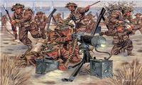 "Набор миниатюр ""Британская пехота"" (масштаб: 1/72)"
