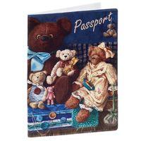 """Обложка для паспорта """"Медведи"""" (арт. 35678)"""