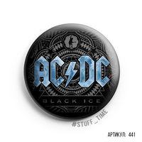 """Значок большой """"AC/DC"""" (арт. 441)"""