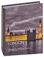"""Тетрадь со сменным блоком """"London"""" (160 листов)"""