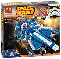"""Конструктор """"Space Wars. Звёздный истребитель Энакина"""" (369 деталей)"""