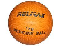 Медицинбол (1 кг; резина)