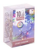 Гирлянда светящаяся (1 м; 10 лампочек)