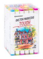 "Набор маркеров двусторонних ""Touch"" (24 цвета; арт. DV-12963-24)"